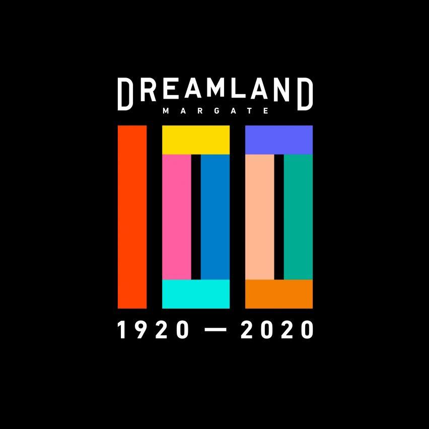 Dreamland 100th Anniversary logo by HemingwayDesign