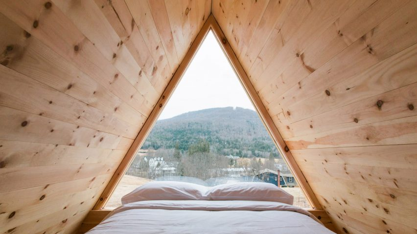 Eastwind Hotel Catskill glamping pods