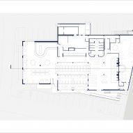 Eberly restaurant by Clayton & Little Floor Plan
