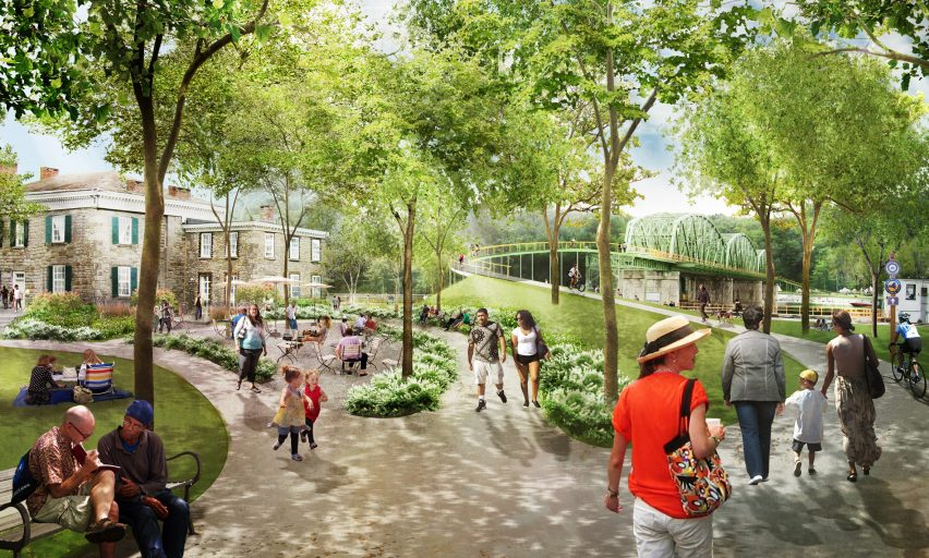 Erie Canal Reimagining by BuroHappold