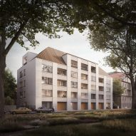 David Chipperfield designs apartment block in Munich for Euroboden