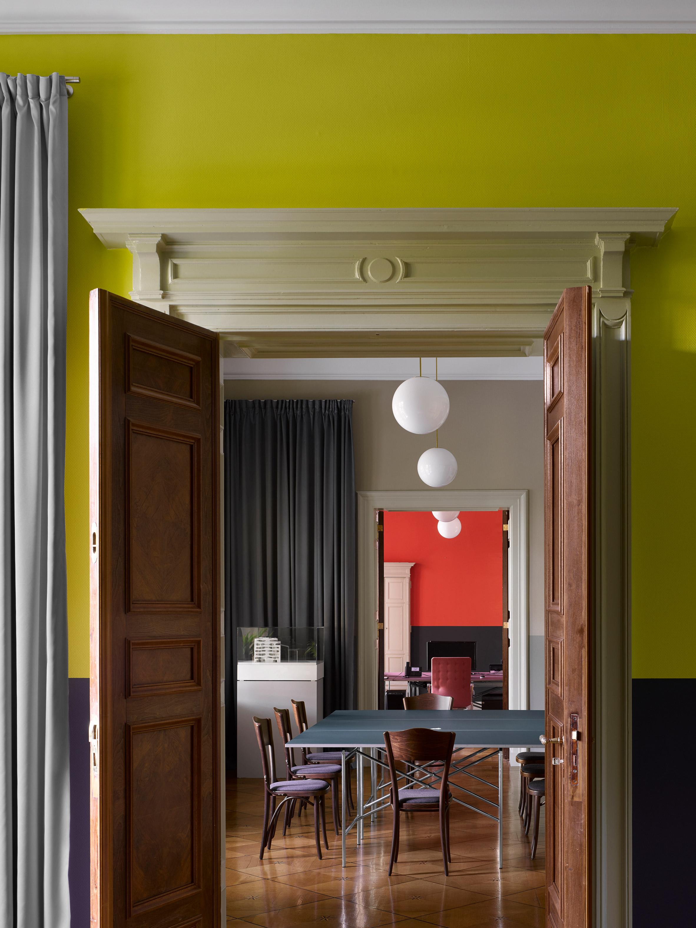 Euroboden's Berlin office, designed by David Kohn Architects