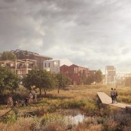 "Henning Larsen reveals visuals for Copenhagen's ""first all-timber neighbourhood"""