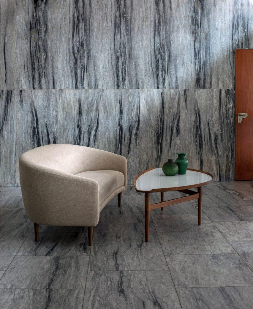"House of Finn Juhl reissues Little Mother sofa after 75 years ""in hibernation"""