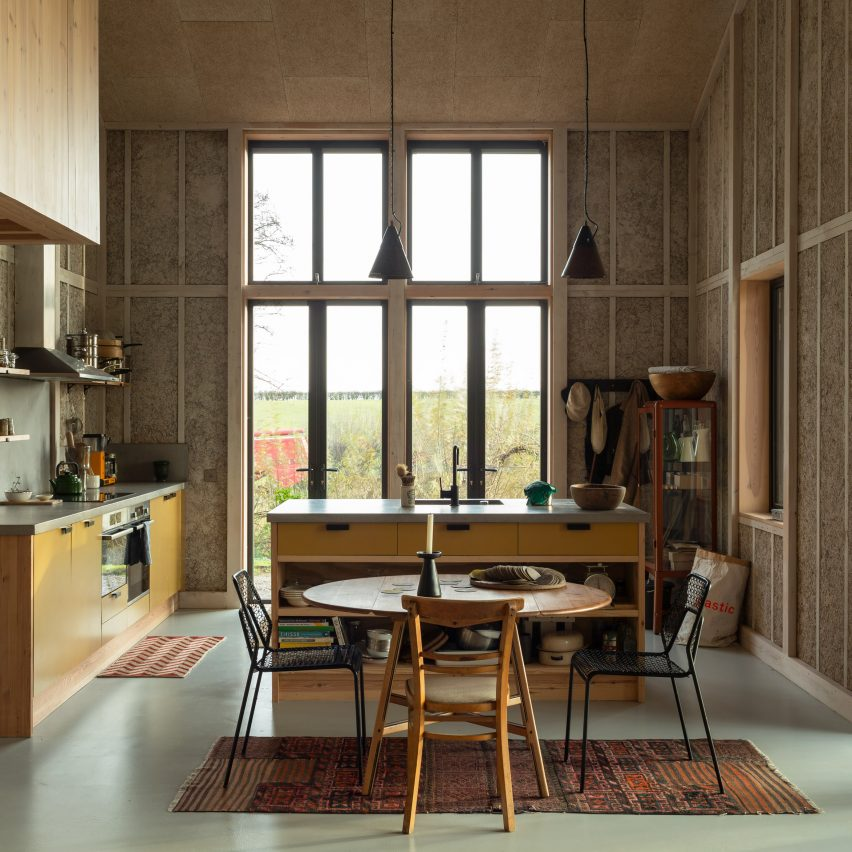 Top 10 British architecture projects of 2020: Flat House on Margent Farm, Cambridgeshire by Practice Architecture