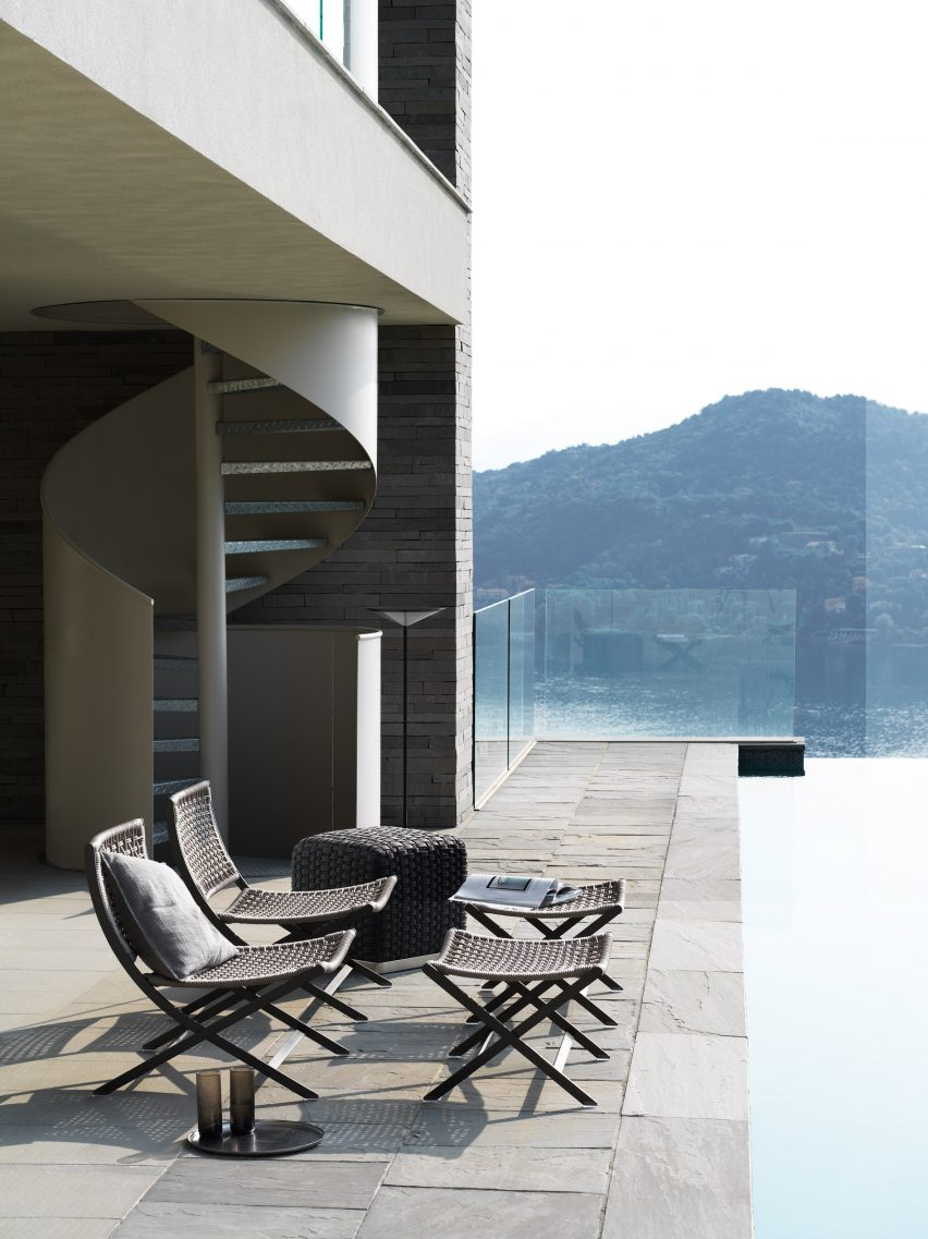 Antonio Citterio designs outdoor furniture collection for Flexform