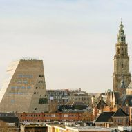 "NL Architects unveils Forum Groningen as a ""cultural department store"""