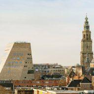"NL Architects unveils Forum Groningen as a ""cultural department store"""