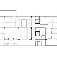 Gastronomy and Hospitality School by 51-1 Basement Floor Plan