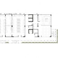 Gastronomy and Hospitality School by 51-1 Second Floor Plan
