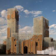 Gharfa is a multi-sensory pavilion in Riyadh by Edoardo Tresoldi's Studio Studio Studio lab
