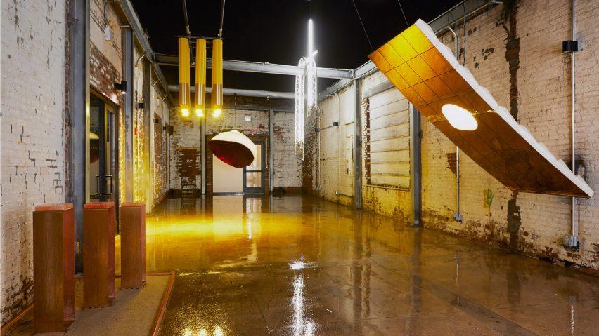 In Good Company installs huge lights in ADO courtyard