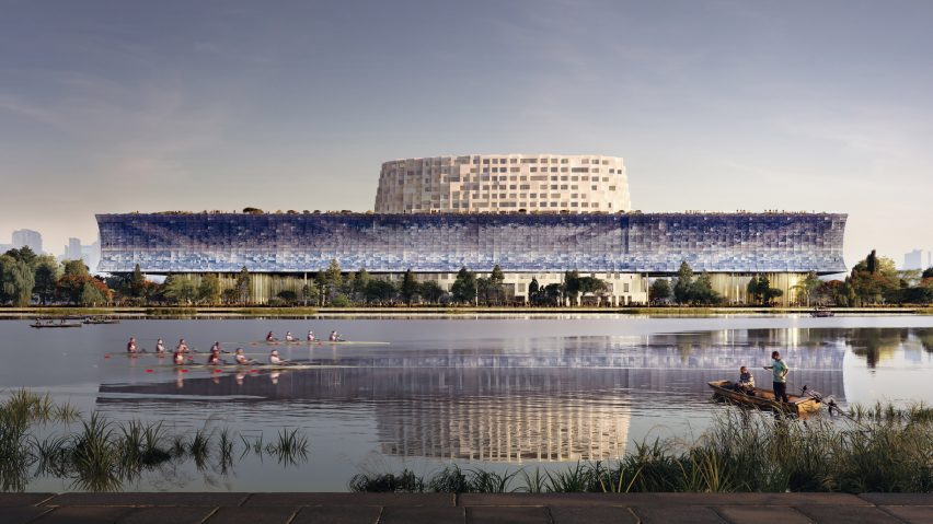 Herzog & de Meuron reveals visuals of museum complex beside China's Grand Canal