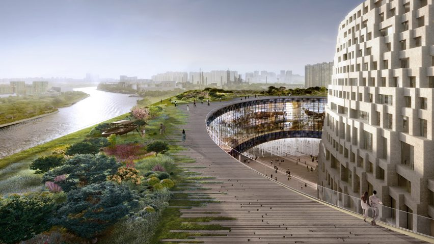 Grand Canal Museum Complex by Herzog & de Meuron in Hangzhou, China