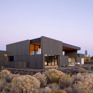 Hacker Architects builds High Desert Residence in volcanic Oregon landscape