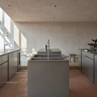Ras Al Khaimah's minimalist Hoof cafe is designed to recall horse stalls