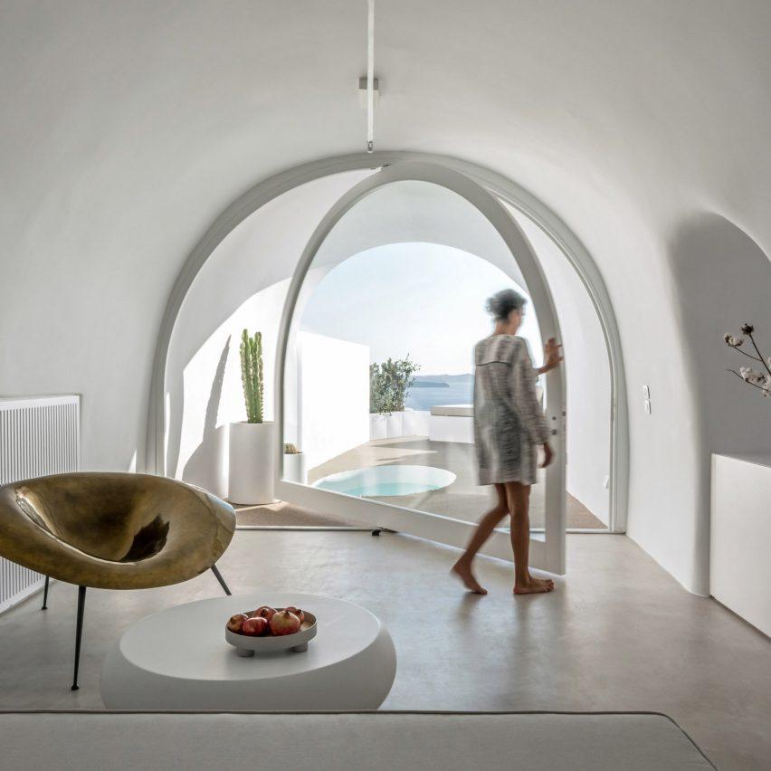 Saint Hotel in Santorini by Kapsimalis Architects