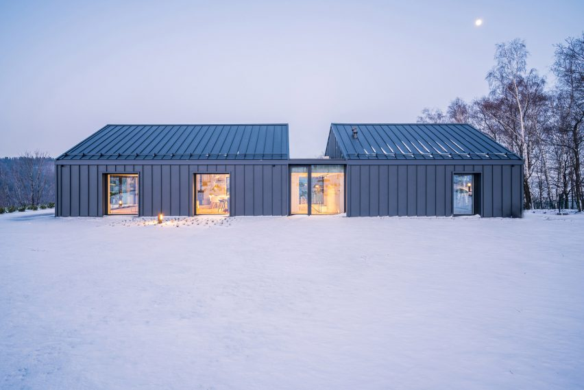 House in the Mountains by Kropka Studio