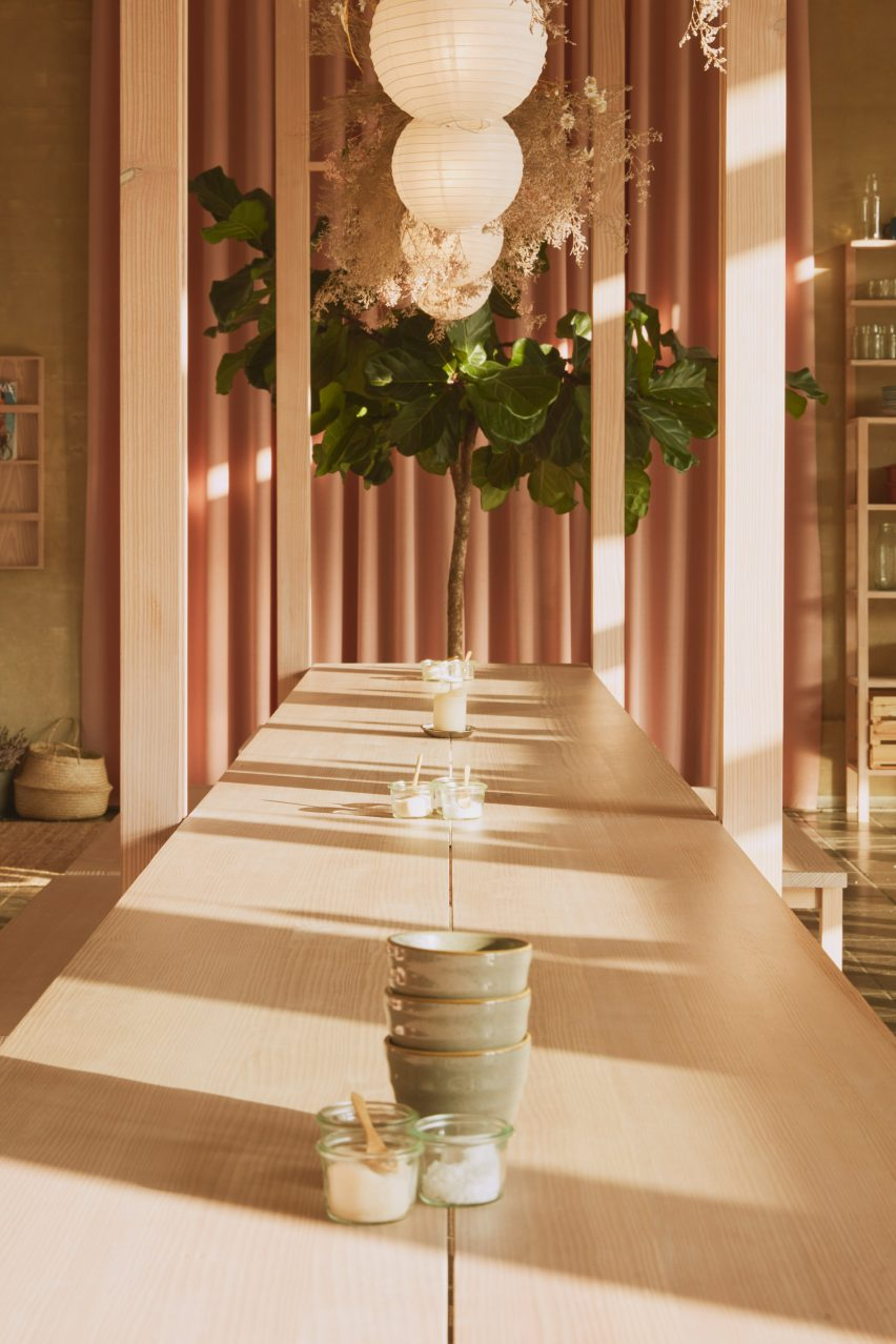 Hverdagen restaurant in Copenhagen, designed by Vermland