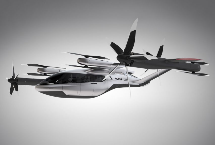 Hyundai and Uber unveil concept design for flying car