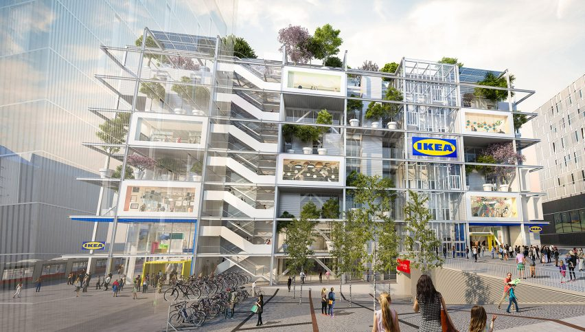 IKEA Vienna Westbahnhof by Querkraft Architekten for IKEA
