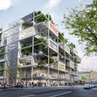 IKEA reveals plans for car-free store wrapped in greenery