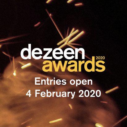 Dezeen Awards 2020 entries open 4 February