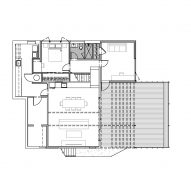 Irwin Caplan's Laurelhurst House by SHED Plan Ground Floor Plan