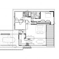Irwin Caplan's Laurelhurst House by SHED First Floor Plan