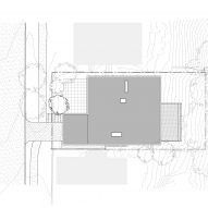 Irwin Caplan's Laurelhurst House by SHED Site Plan
