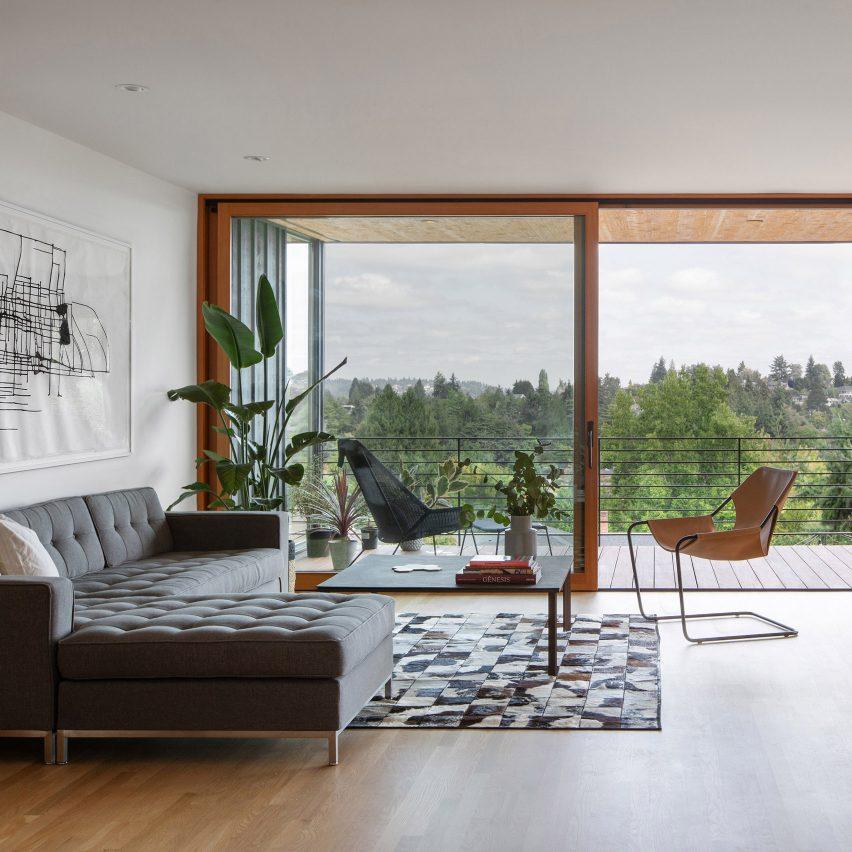 Irwin Caplan's Laurelhurst House by SHED