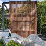 "Flavin Architects adds ""creative sanctuary"" Modern Lantern Studio to Massachusetts home"