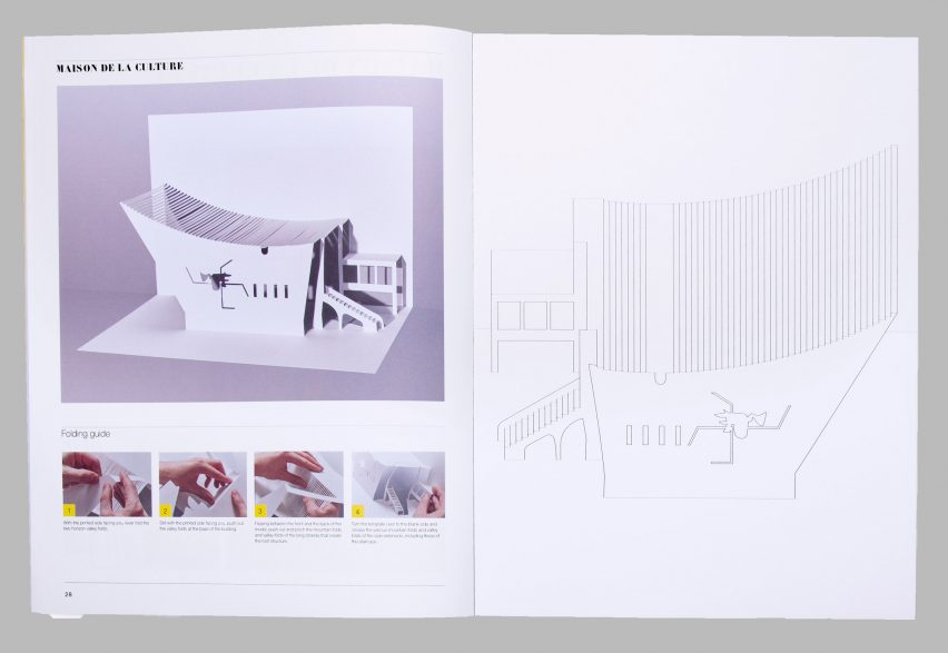 Le Corbusier Paper Models: 10 Kirigami Buildings to Cut and Fold by Marc Hagan-Guirey