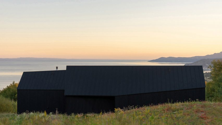 10 black cabins in remote places around the world