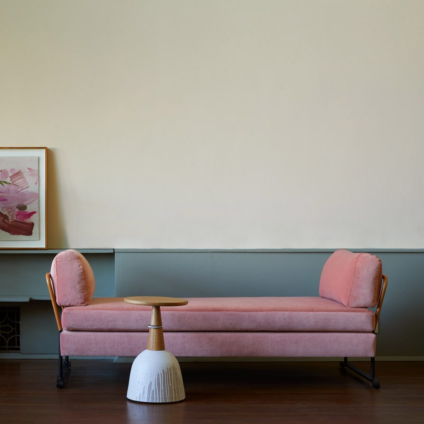 California modernists RM Schindler and Richard Neutra influence Maker's Collection furniture