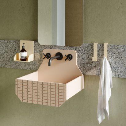 Frieze bathroom basins by Marcante Testa for Ex.t