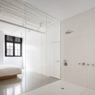 "Room-sized shower ""big enough for two"" features inside Montreal apartment McGill 120"