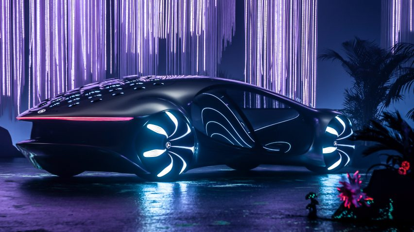 This week, carmakers envisioned the future of transport at CES