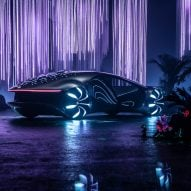 Dezeen Weekly features a Mercedes-Benz inspired by the film Avatar