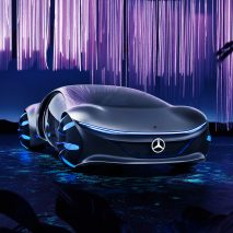Mercedes-Benz unveils scale-covered concept car inspired by Avatar movie