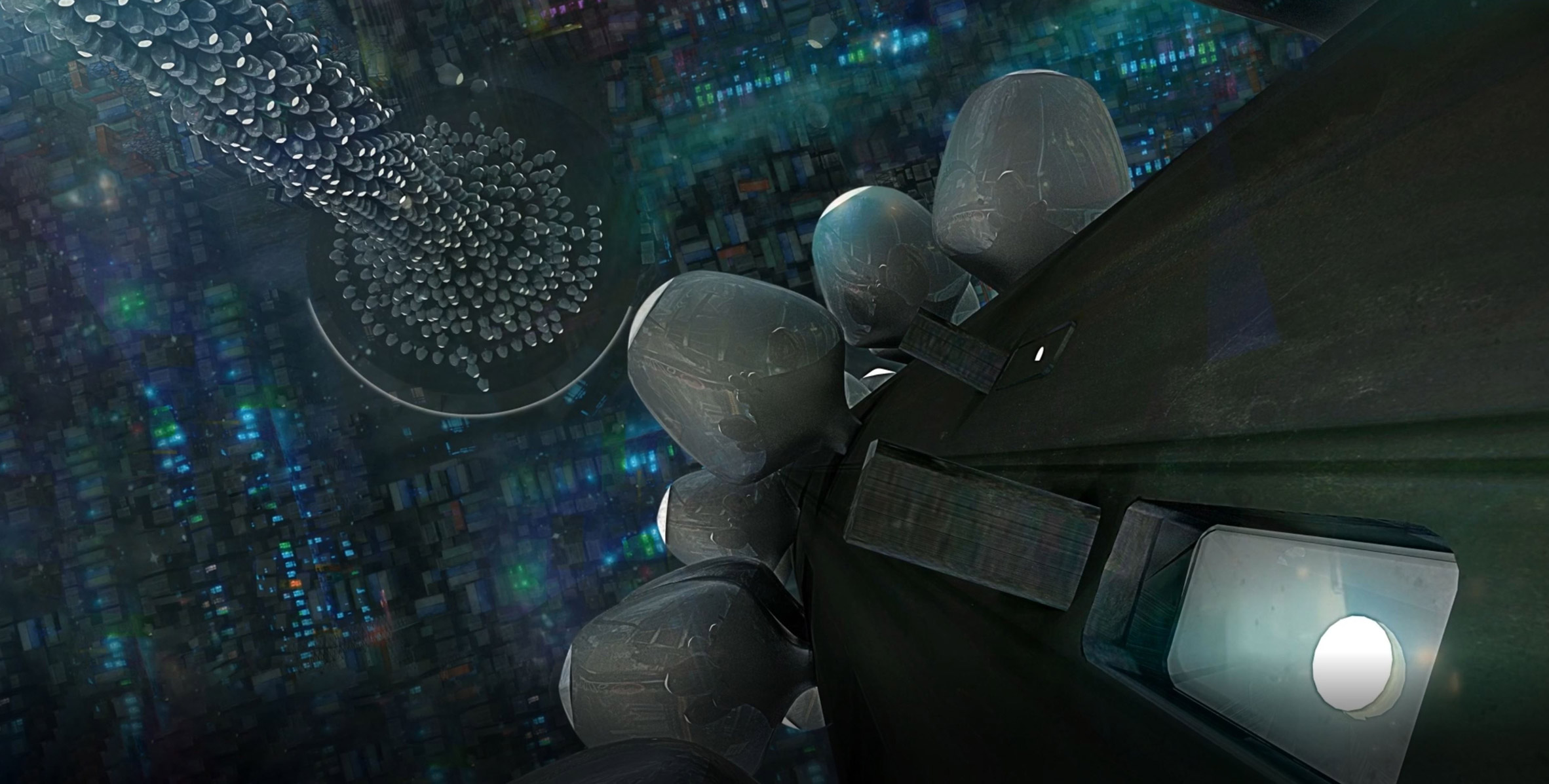 A Metallic Villadrone movie by Studio MK27