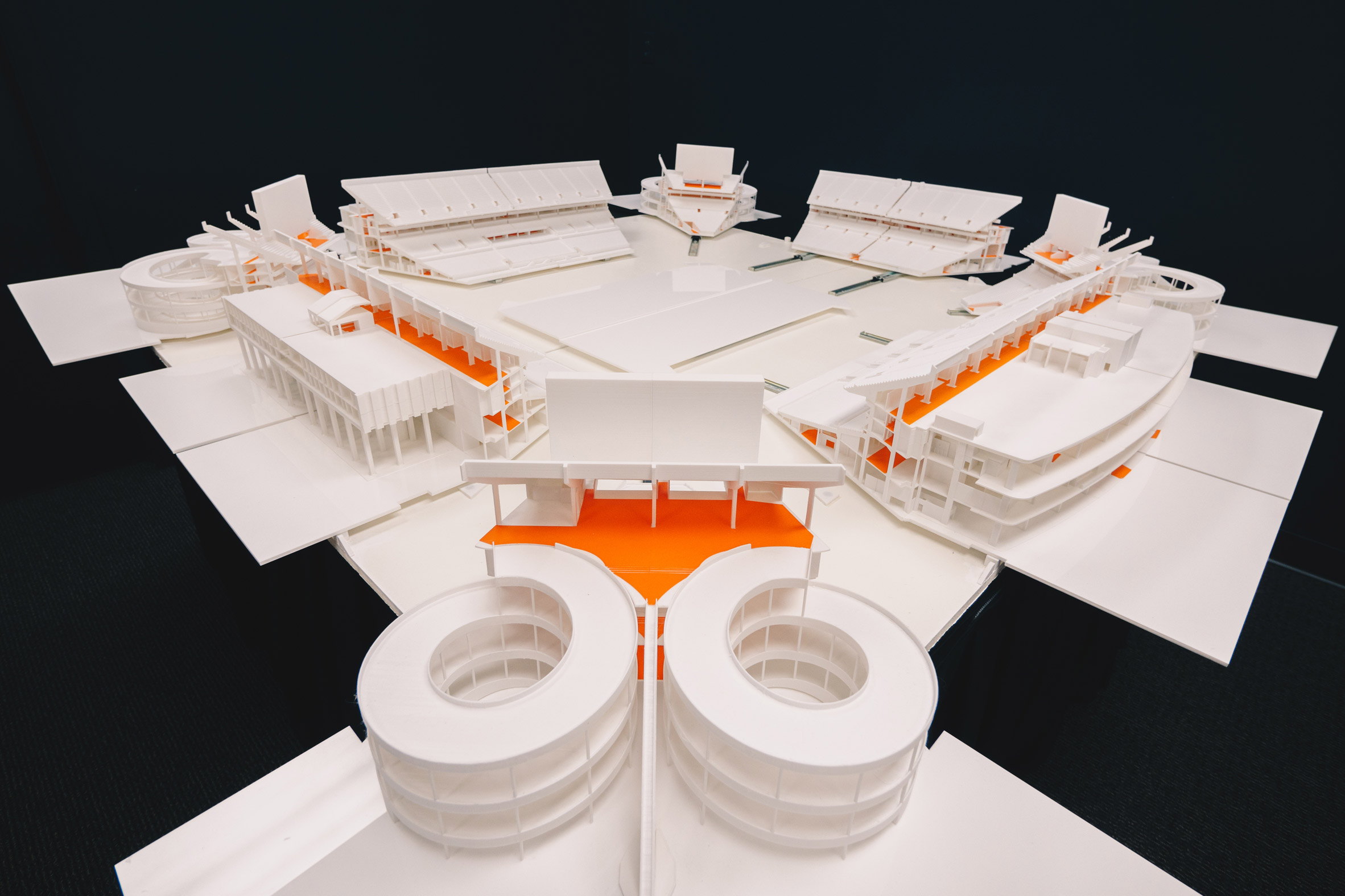 3D-printed Hard Rock Stadium model by FIU students