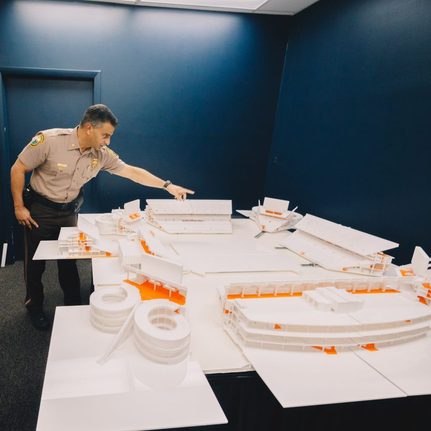 Miami police enlist architecture students to create 3D-printed model of the Super Bowl stadium