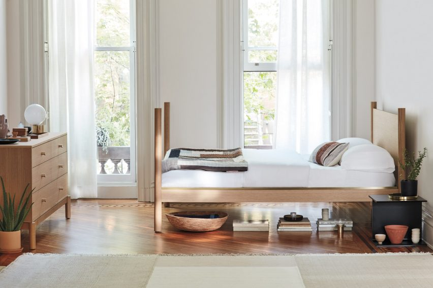 Anastassiades launched a bedroom collection with Herman Miller in 2019