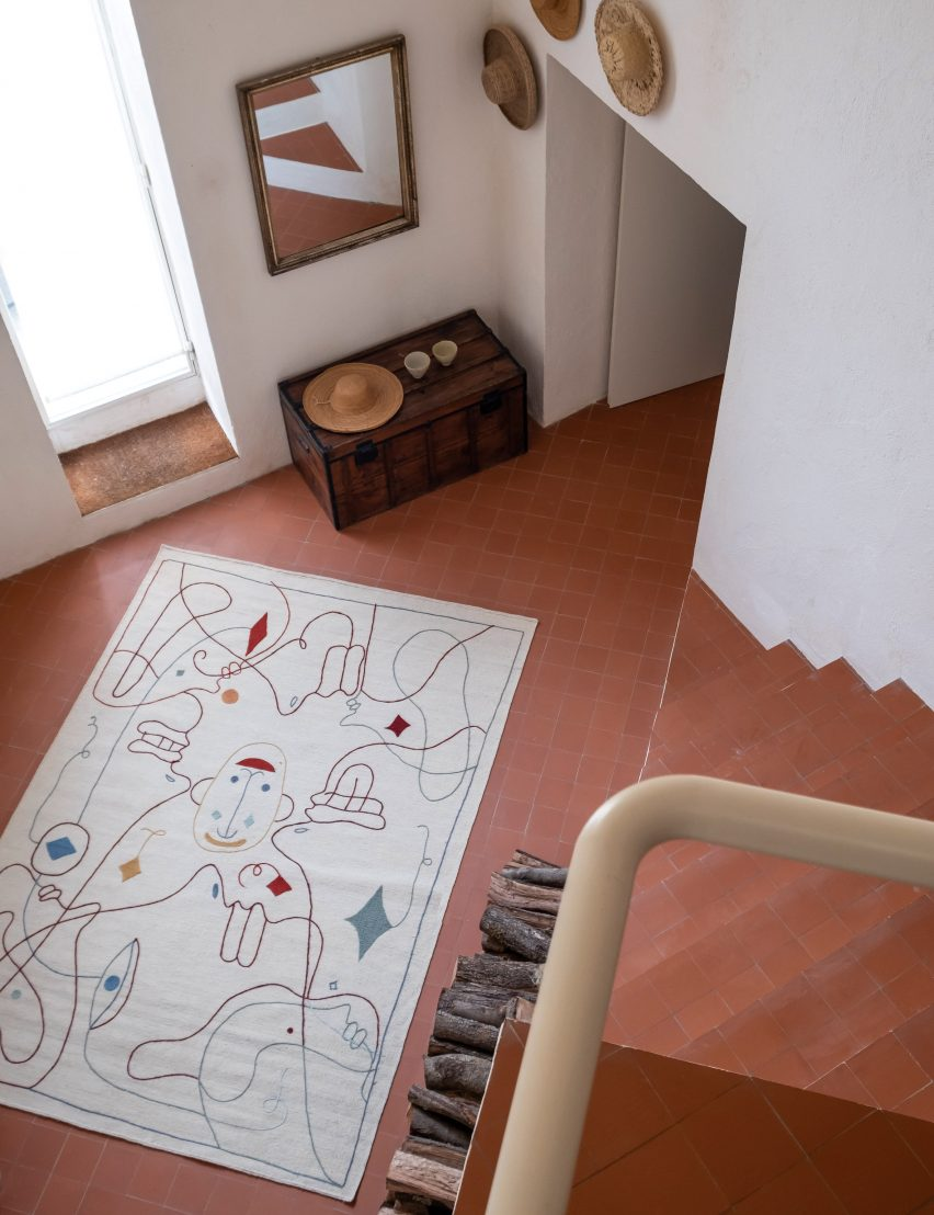 Rugs: Silhouette by Jaime Hayon for Nanimarquina
