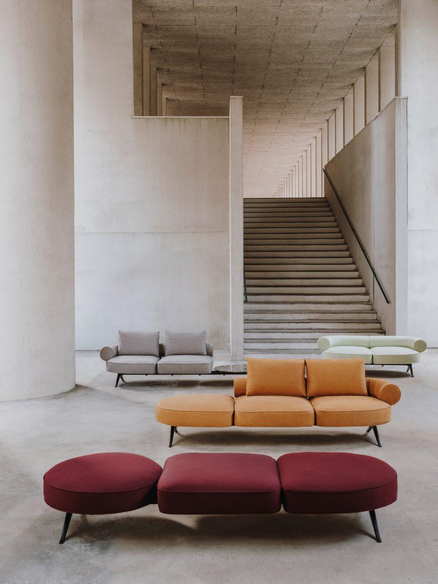 Sofas: Luizet by Luca Nichetto for La Manufacture