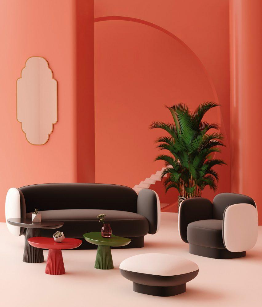 Sofas: Major Tom by Thomas Dariel for Maisondada