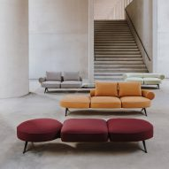 Sofas: Luizet by Luca Nichetto for La Manufacture