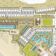 Nobu Los Cabos by WATG Landscape Site Plan