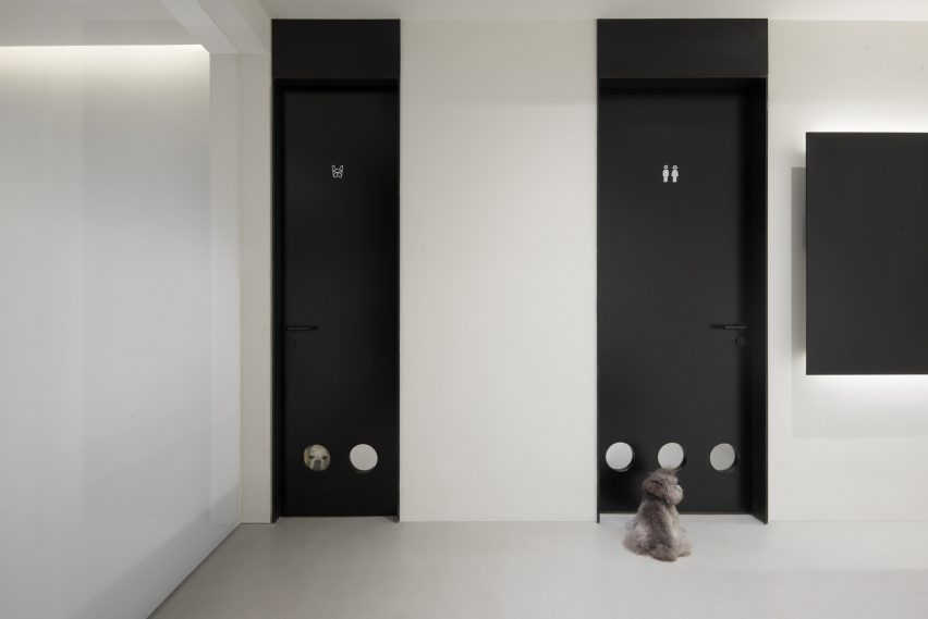 Nova Pets grooming salon by Say Architects